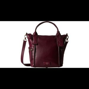 Fossil Emerson Handbag - Plum Red for Autumn! 🍁